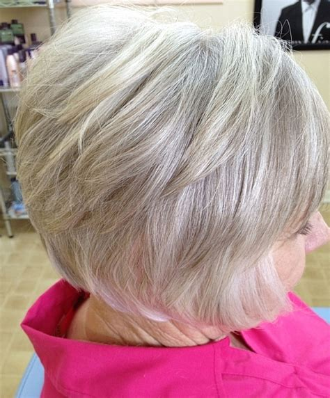 layered bob women over 50 short layered bob for women over 50 short hairstyle 2013