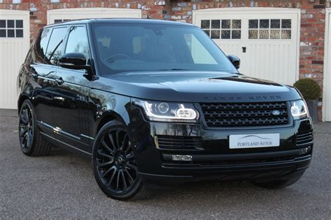 land rover range rover 2016 black used 2016 land rover range rover 3 0 tdv6 vogue 22 inch
