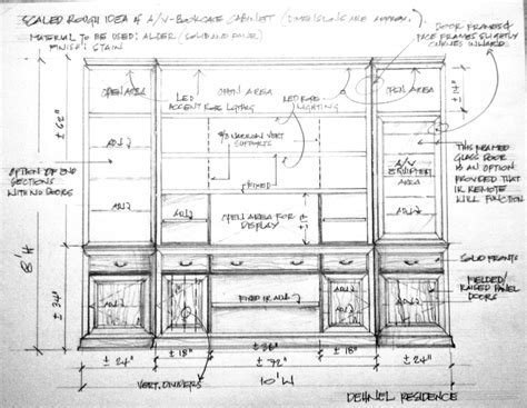 Cd Bookcase Furniture Pin By Jared Meadors On Shop Drawings For Built Ins