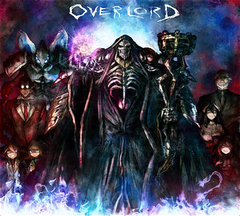 anime overlord overlord wallpaper and background 1366x1233 id 626821