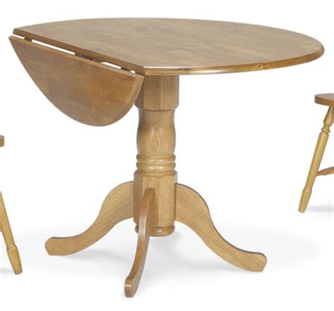 Oak Drop Leaf Table Dining Essentials Oak 42 Quot Drop Leaf Dining Table
