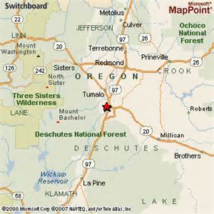 map bend oregon bend oregon