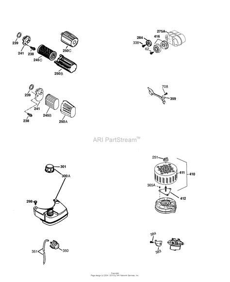 tecumseh lvea  parts diagram  engine parts list