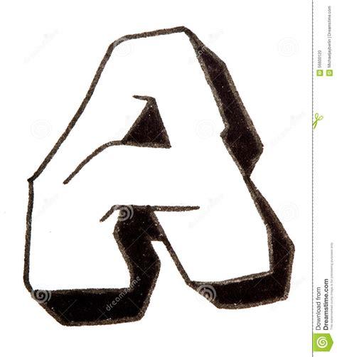 lettere stile graffiti letter a alphabet in graffiti style stock photo image