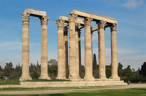 file temple of zeus in athens jpg wikimedia commons