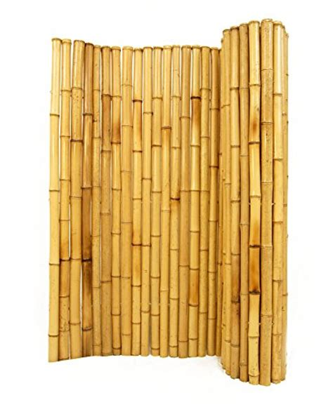 How To Make A Bamboo L by Rolled Bamboo Fencing 1 Quot D X 4 H X 8 L