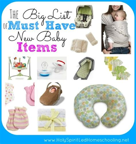 Things Needed For A Baby Shower by The Big List Of Must New Baby Items See The Items