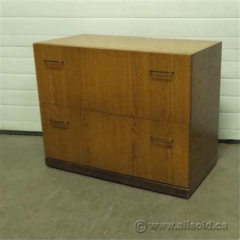oak lateral file cabinet 2 drawer medium oak 2 drawer lateral file storage cabinet allsold