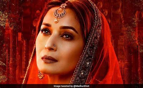kalank madhuri dixit as the enchanting bahaar begum