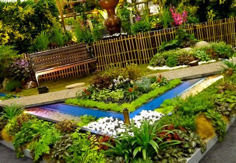 backyard flower garden designs modern garden design modern magazin