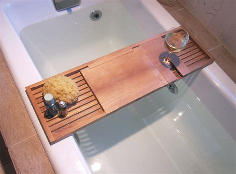 bathtub laptop holder bathtub laptop tray practical and elegant bathtub tray