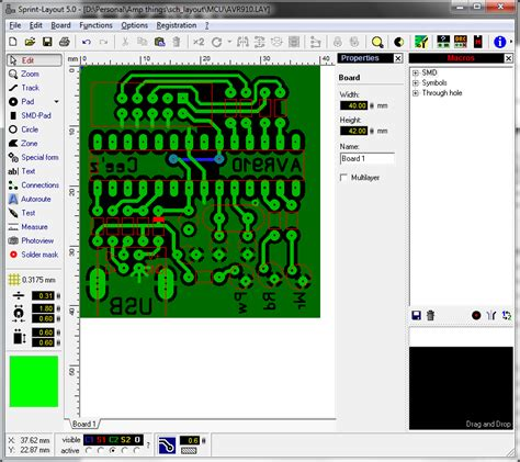 sprint layout library download pcb design tools comments 187 cee z blog