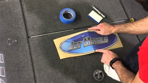 bass boat carpet graphics install by zdecals youtube - Bass Boat Carpet Graphics