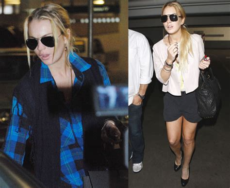 Pop Nosh Lindsay Lohan Does Rehab Take 2 Popbytes 8 by Pictures Of Lindsay Lohan Out In La Shopping And Leaving A