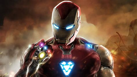 iron man infinity gauntlet avengers endgame hd