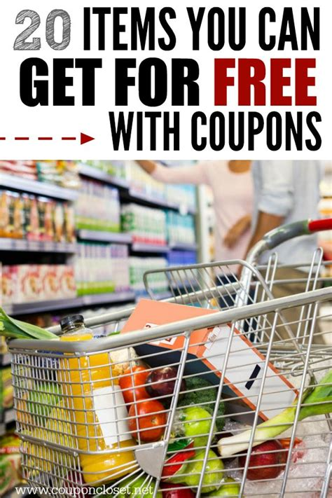 Closet Coupons by 20 Items You Can Get For Free With Coupons Coupon Closet