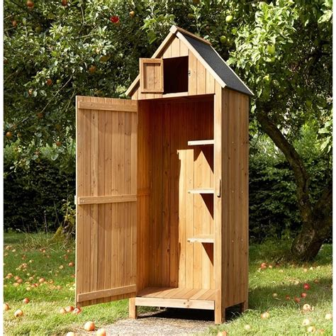 Storage Hut Wooden Tool Shed Hut Style The Garden Factory