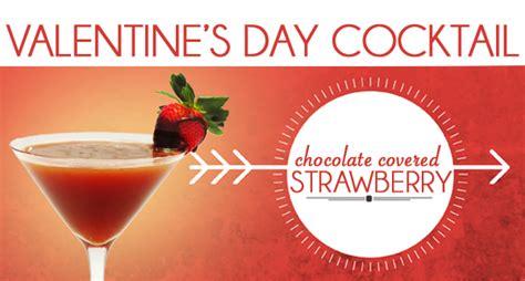 valentines day drink recipes strawberry chocolate martini