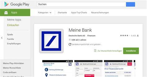 deutsche bank banking einloggen deutsche bank mobile banking app android ios windows 2018