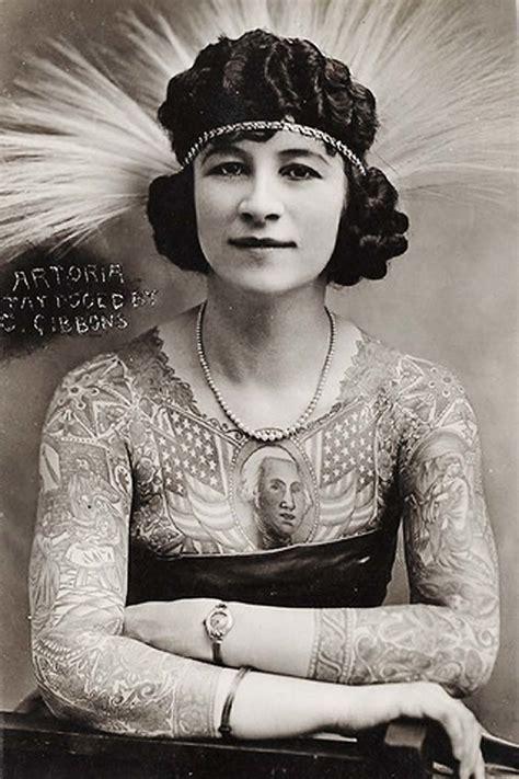 tattoo lady history as pessoas mais bizarras que j 225 passaram pelo circo dos