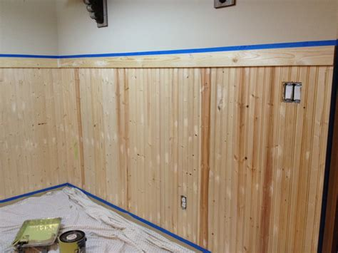 Pine Wainscoting Panels Wainscoting Project Reveal Twinmamaloves
