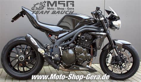 Motorrad Triumph Speed Triple by Umgebautes Motorrad Triumph Speed Triple 1050 Von Msg Moto