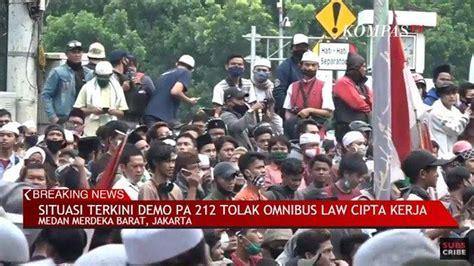 situasi demo jakarta hari   oktober
