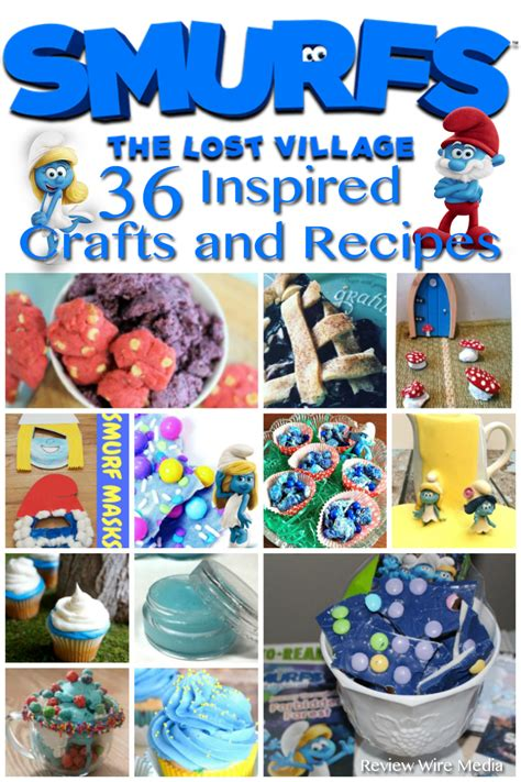Ebay Of The Day Smurftastic by 36 Smurfs Recipes And Crafts Inspired By Smurfs The Lost