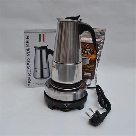 espresso maker electric 6 cups300ml espresso machine american trickling electric