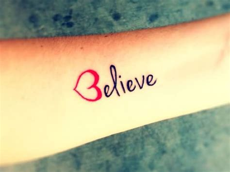believe tattoo on hand 15 nice love forearm tattoos golfian com