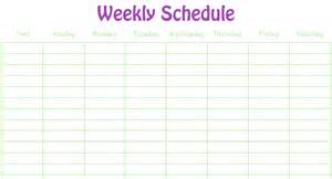 rota calendar template 5 weekly schedule templates excel xlts