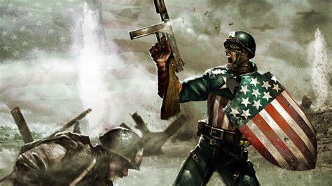 Captain America Epic Wallpaper | the first avenger captain america june 2010