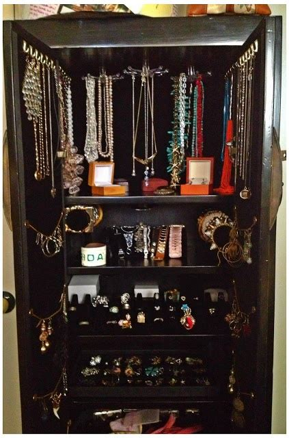 how to build a jewelry armoire pin by carol haberkam on organization pinterest