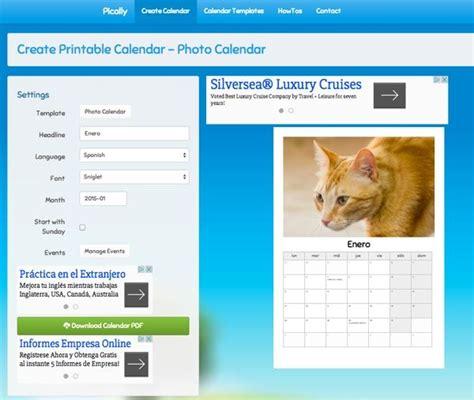 Crear Calendario Personalizado C 243 Mo Crear Un Calendario Personalizado Para 2015 Chicageek