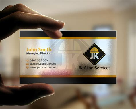 Contractor Business Card Templates Free by Design Business Cards For Construction Business Consulting