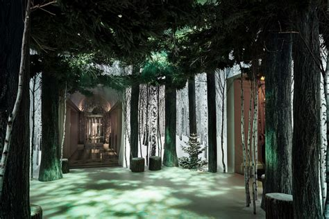 enchanted forest christmas trees an enchanted forest arrives at claridge s