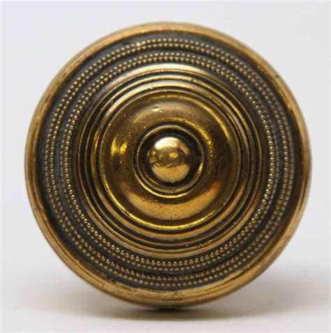 Knobs And Things by Bronze Concentric Circle Vintage Knob Set Olde Things