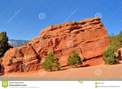 Garden Of The Gods Rock Formations Garden Of The Gods Stock Photography Image 30377632