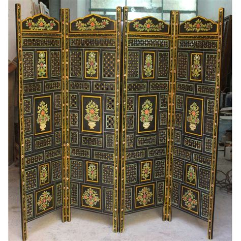 indian room divider carved indian partition screen room divider painted