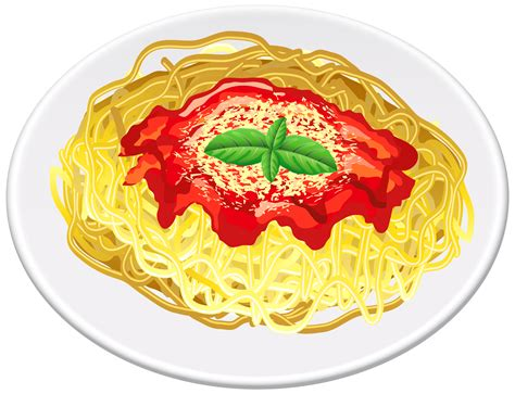 Pasta Clipart Spaghetti Clipart Transparent Pencil And In Color