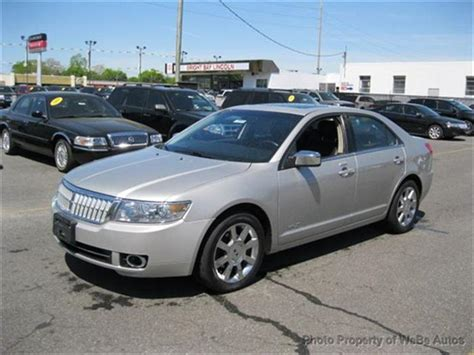 how to work on cars 2008 lincoln mkz electronic valve timing 2008 lincoln mkz information and photos momentcar