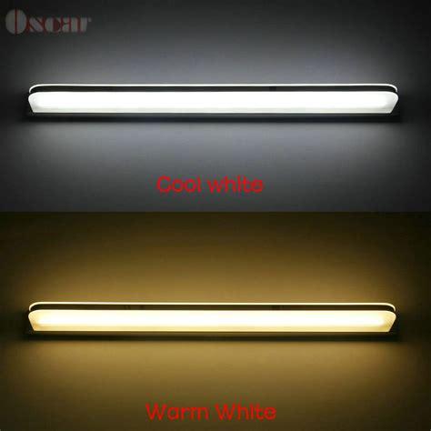 cheap led bathroom mirrors 520mm 8w warm white led bathroom mirror light modern