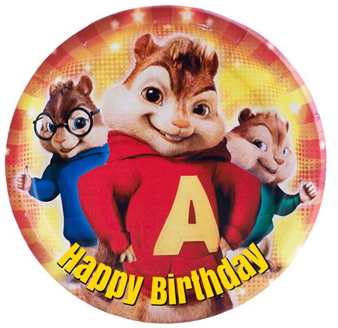 free alvin and the chipmunks birthday greeting cards