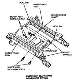 2004 Ford F150 Interior Replacement Parts Repair Guides Interior Power Seat Motor Autozone Com