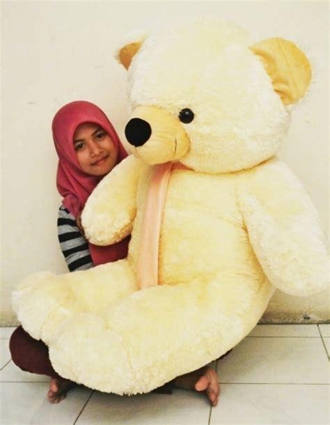 Boneka Teddy Jumbo Besar Bisa Gojek Boneka Beruang Teddy Jumbo Jual Boneka Teddy