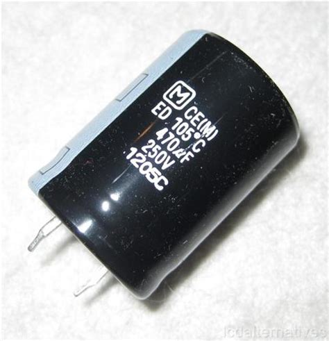 panasonic capacitor ripple current panasonic ts ed 250v 470uf capacitor lcdalternatives