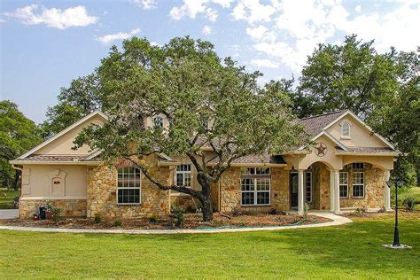 lovely hill country ranch home 28315hj architectural