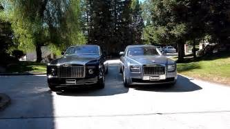 Rolls Royce Phantom Size Size Comparison Rolls Royce Ghost Vs Drophead Coupe