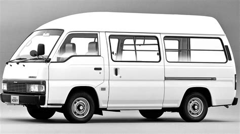 nissan caravan high roof nissan homy high roof van e24 1986 99 youtube