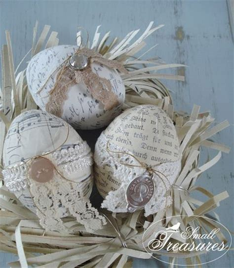 shabby chic easter vintage shabby chic easter eggs decoration pascua chic antiguo y huevos